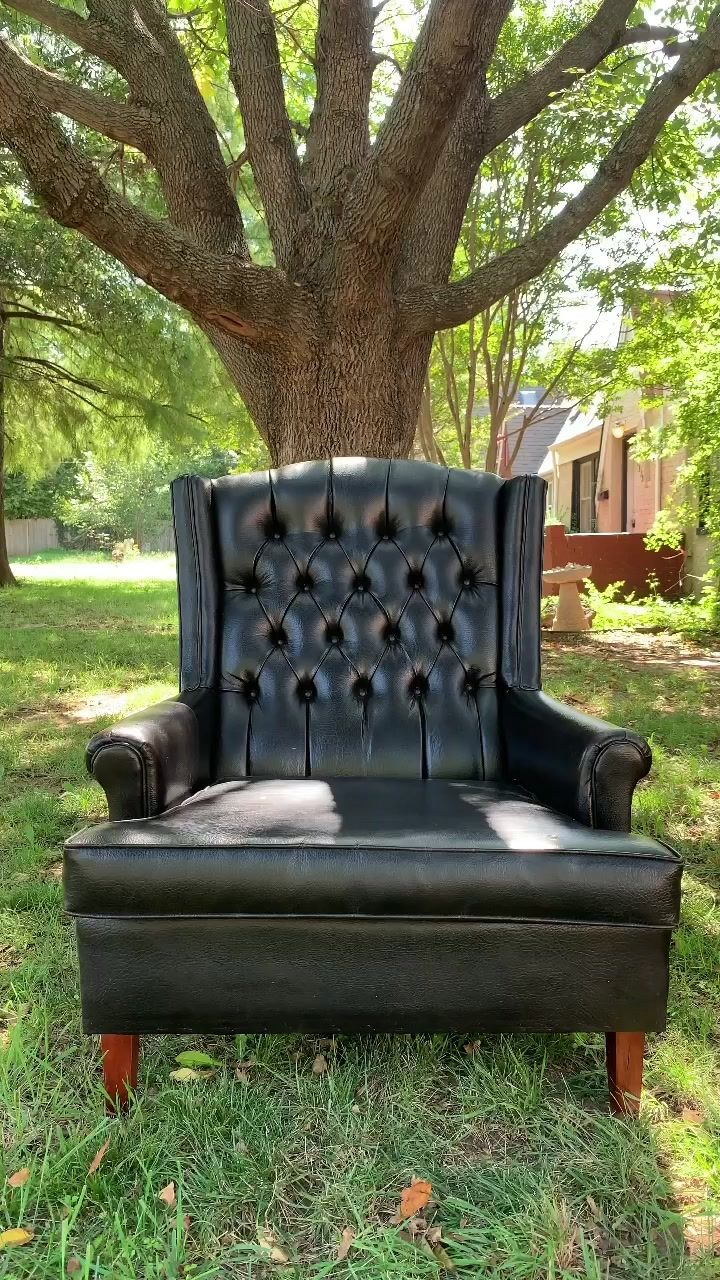 I'm going to make this chair cooler looking! #furnitureflip #thrifted #foryou #diy #tutorial #lifehack