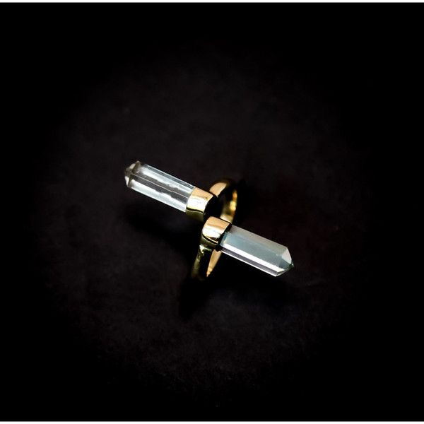 Double quartz ring