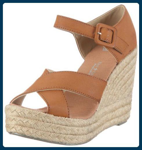 Angkorly Damen Schuhe Sandalen Mule - Plateauschuhe - Schlangenhaut - Multi-Zaum - Wooden Keilabsatz High Heel 11.5 cm - Fushia F-187 T 40 CHUwGcA