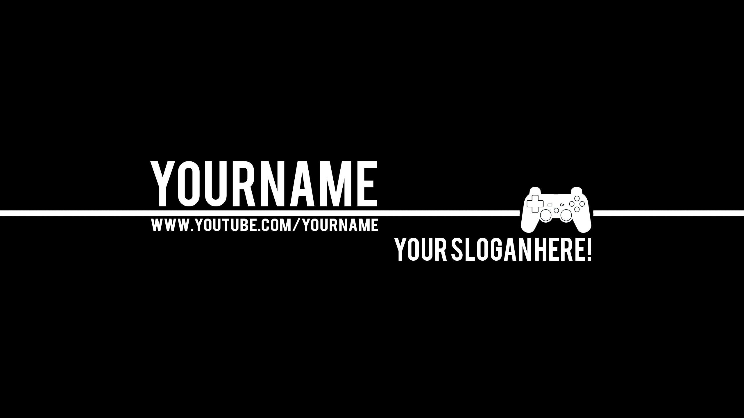 2560x1440 Banners 2015 2016 Bulbasuer Controller Gaming Youtube Banner Youtube Banner Backgrounds Youtube Banners Youtube Banner Template