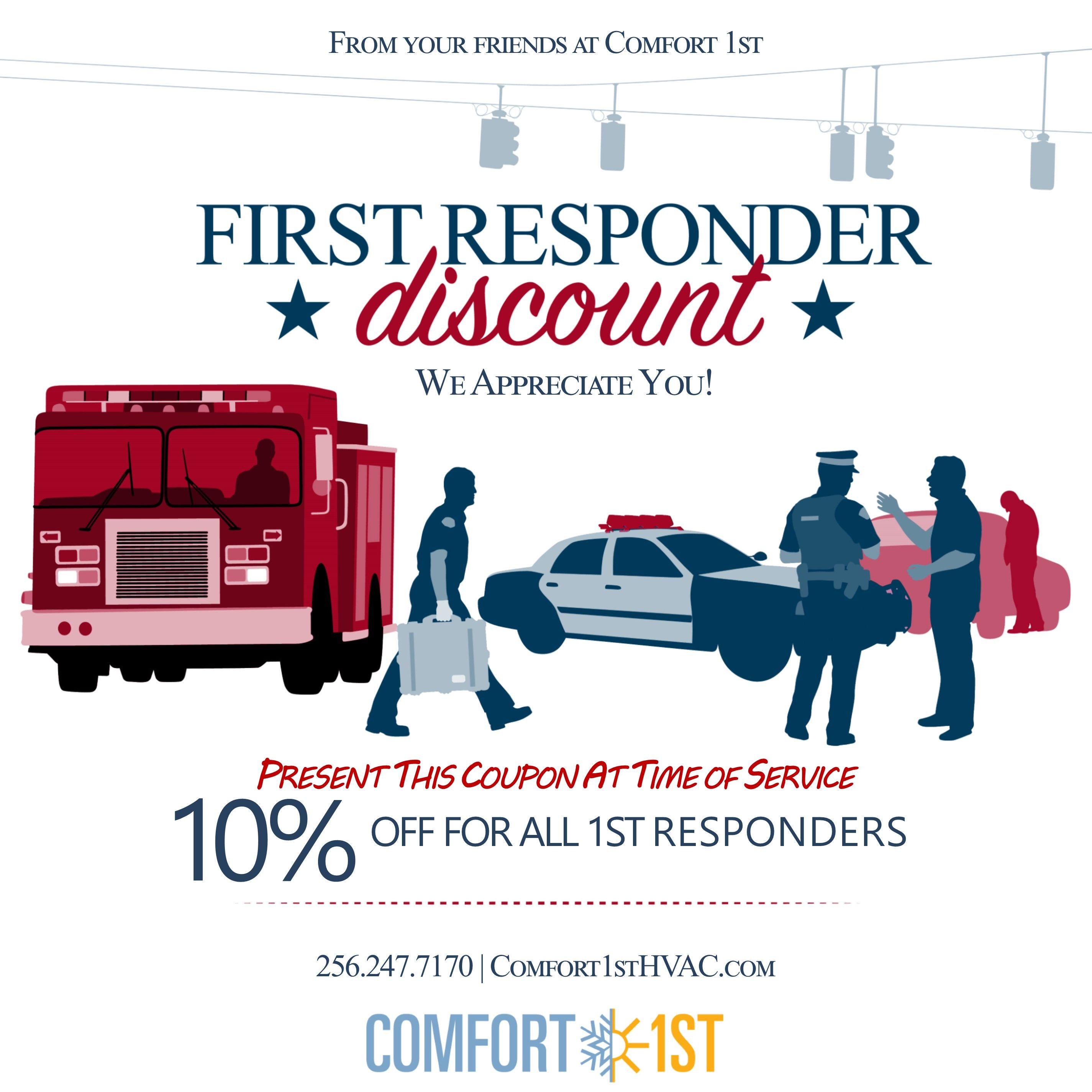 Are You A First Responder Do You Know A First Responder If So