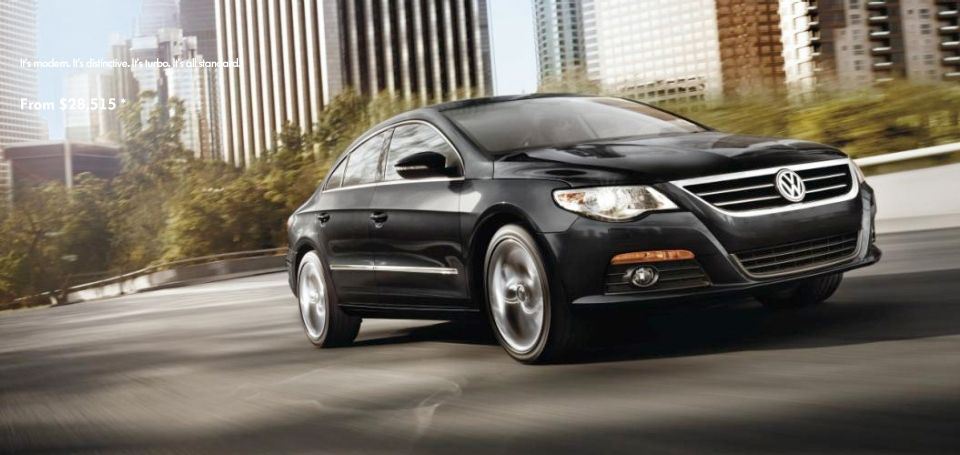 I love Volkswagen and the CC is at the top of my list. My