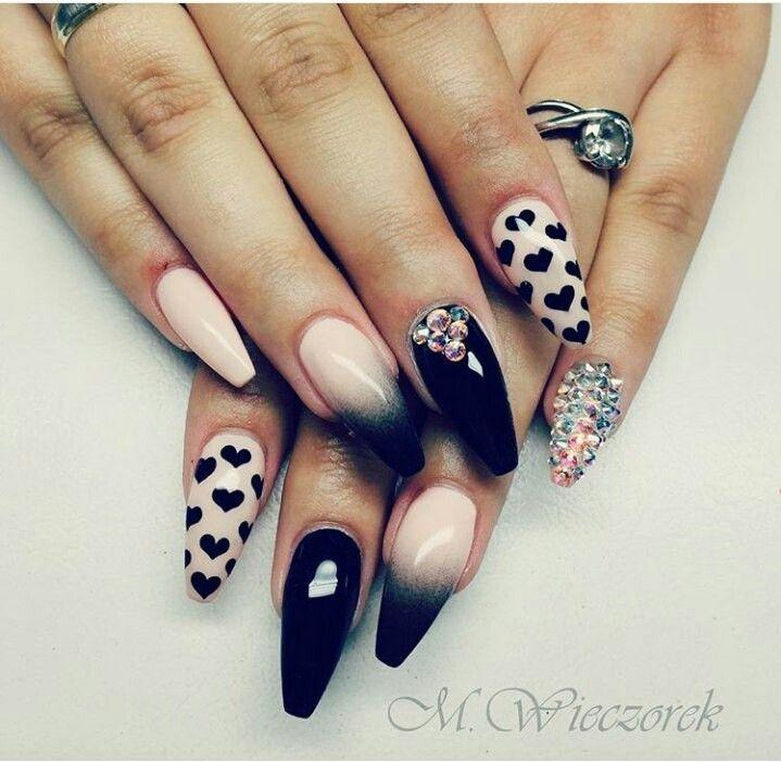 Pin by Madison Ballard on Nails | Pinterest | Coffin nails, Nail art ...