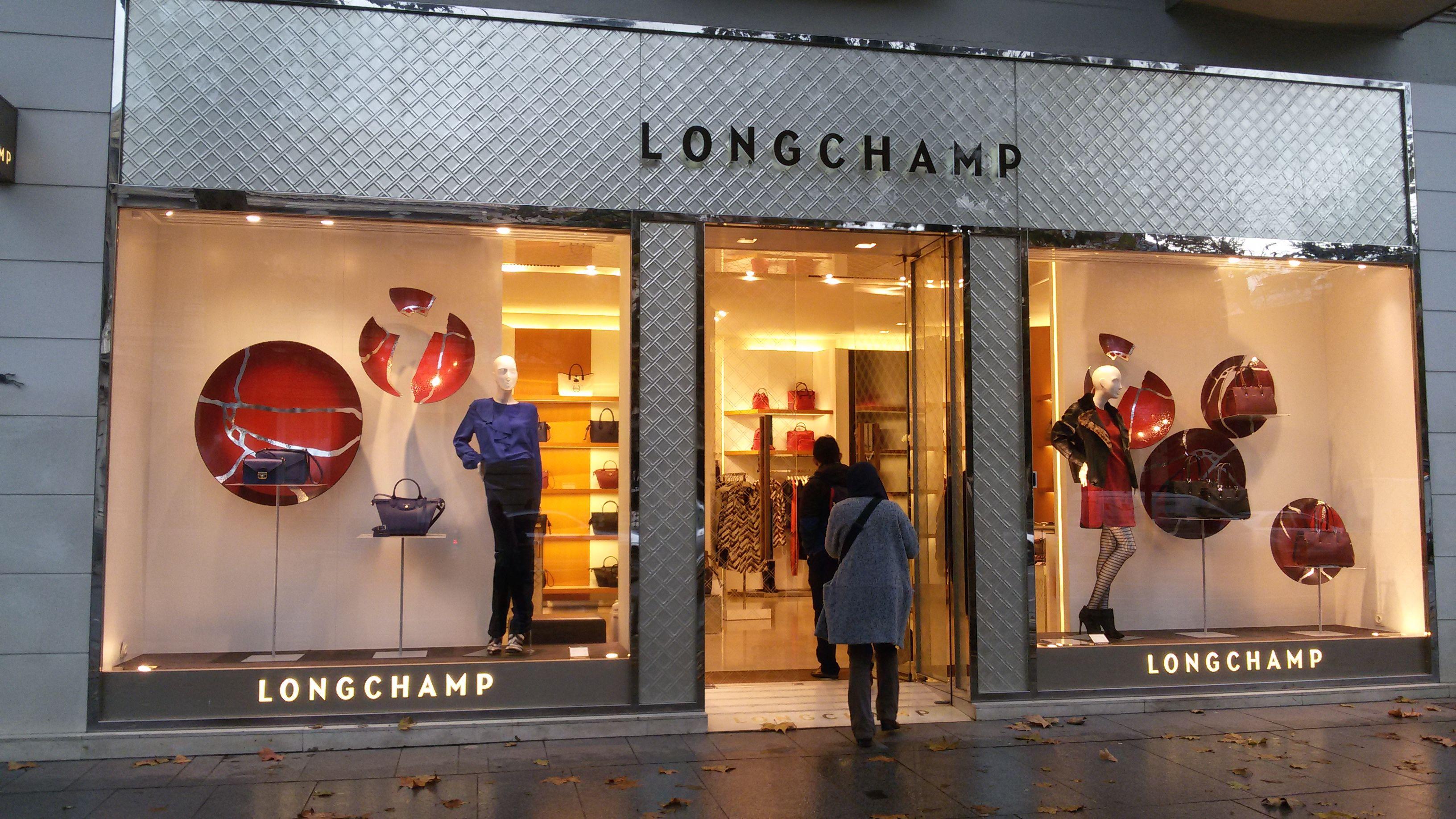 Fachada tienda Longchamp d0f27b877dc81