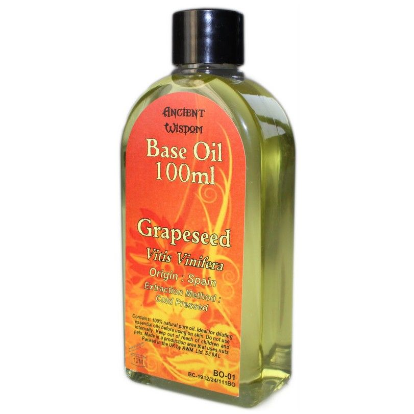 Grapeseed base oil grapeseed oil is great on the skin it