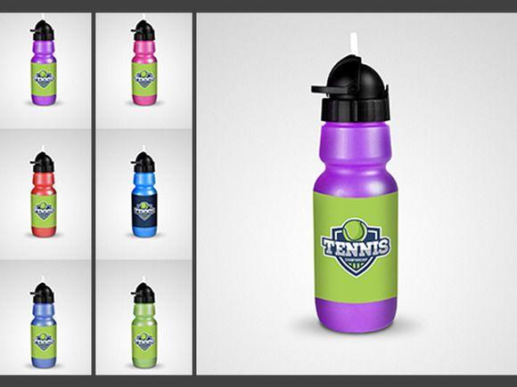 Water Bottle Mock Up Fitness Shaker Water Bottle Bottle Hydro Flask Water Bottle