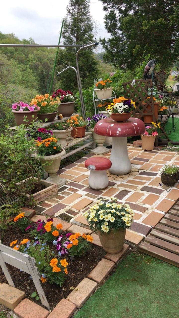 Pin de leo chapellin en jard n y flores pinterest - Decoracion jardines exteriores ...