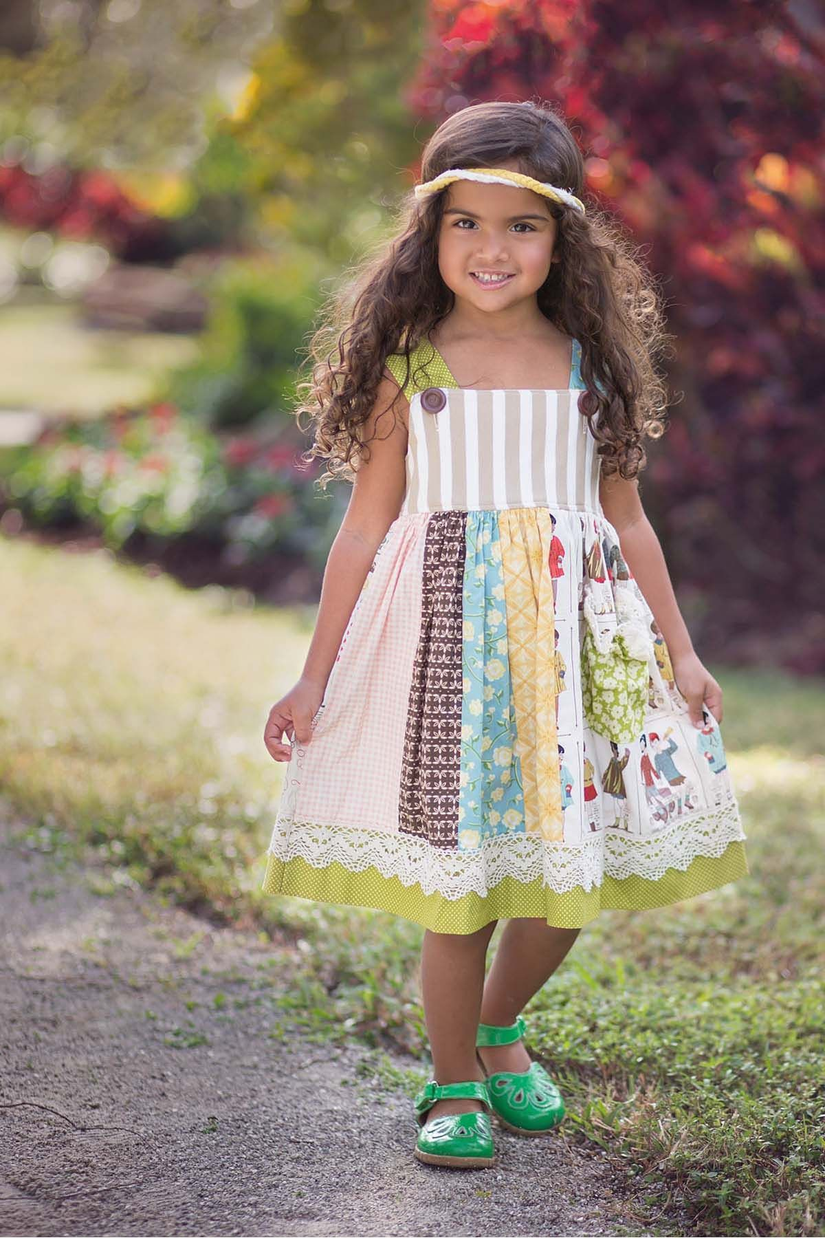Adele Dress Persnickety Clothing Little Girl Fashion