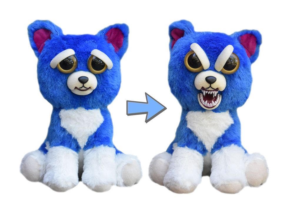 Feisty Pets By William Mark Freddy Wreckingball Adorable Plush Stuffed Dog Plush Dog Pet Puppy Plush Stuffed Animals