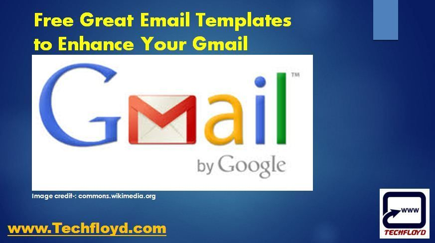 Free Great Email Templates to Enhance Your Gmail