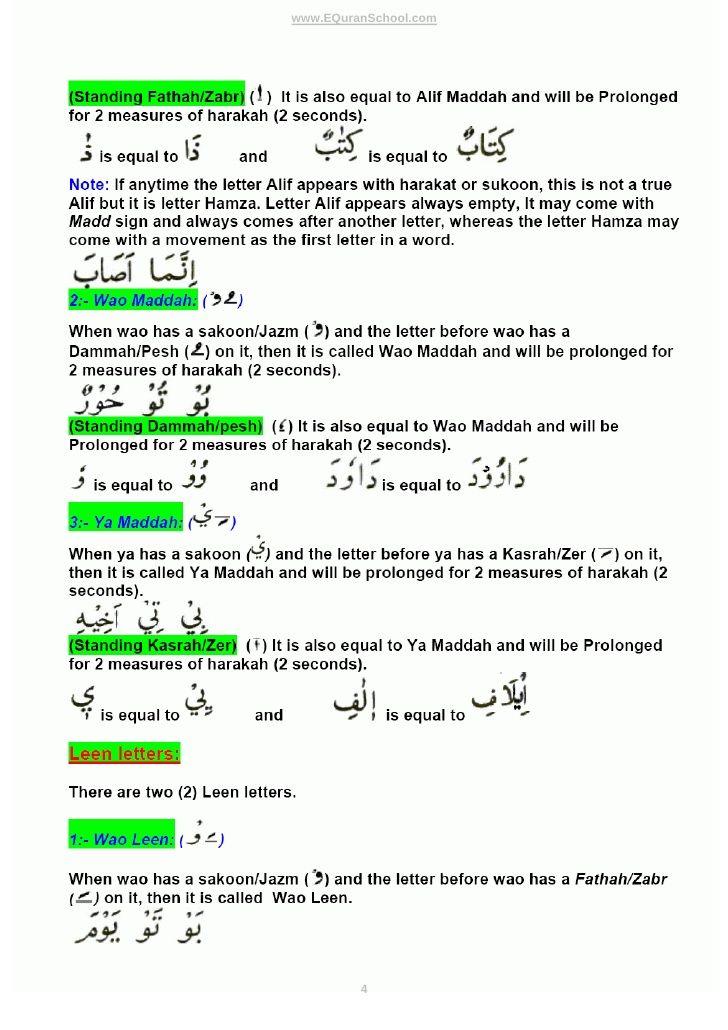 Tajweed Rules -- Learn Quran with Basic Rules of Tajweed - Learn - free bol