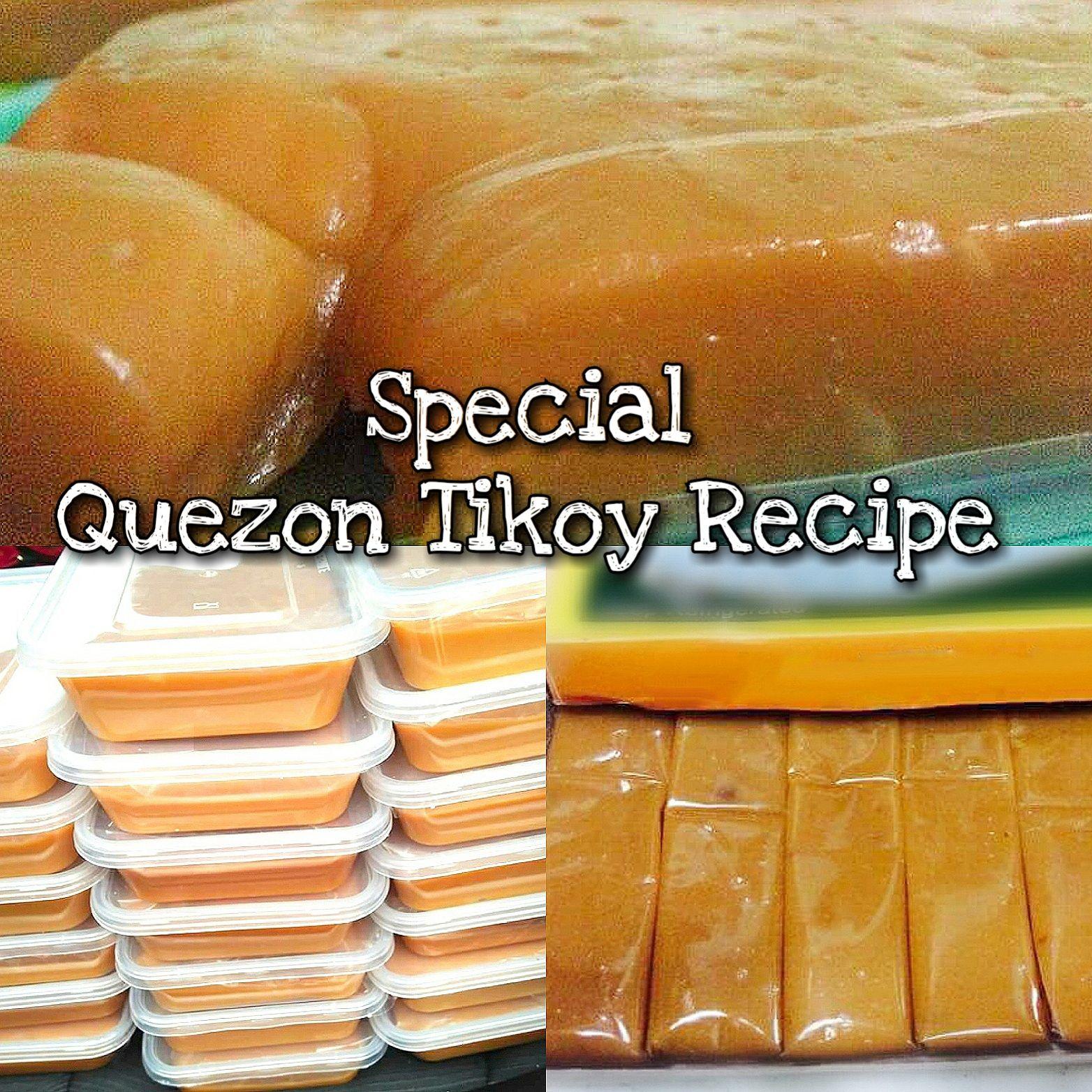 Special Quezon Tikoy Recipe Tikoy Recipe Pilipino Food Recipe