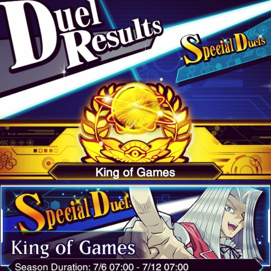 yu-gi-oh duel links  KoG Proof - Special Duels  I didn't
