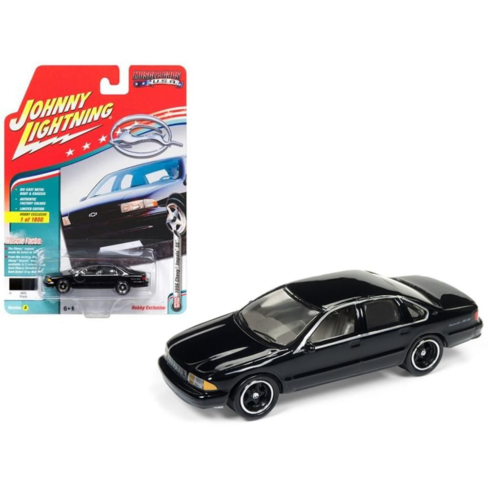 1996 Chevrolet Impala SS Gloss Black Limited Edition to 1800pc ...