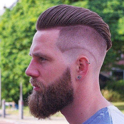 50 Funky Men\u0027s Undercut Hairstyles and Haircuts