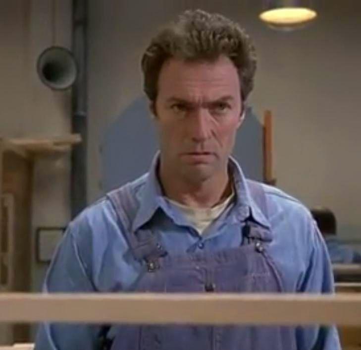 Clint Eastwood Escape From Alcatraz 1979 Actor Clint Eastwood