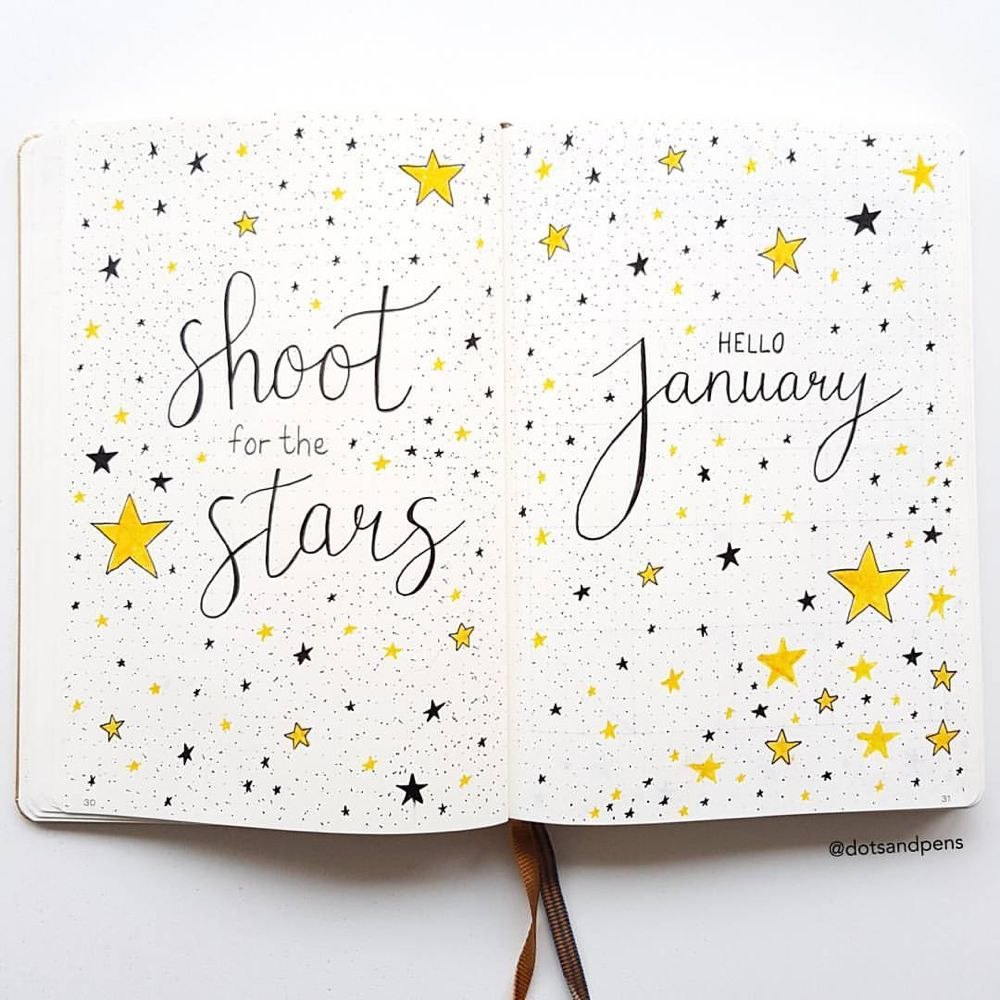 150+ Bullet Journal Monthly Cover Ideas [2020 New Edition] - AnjaHome