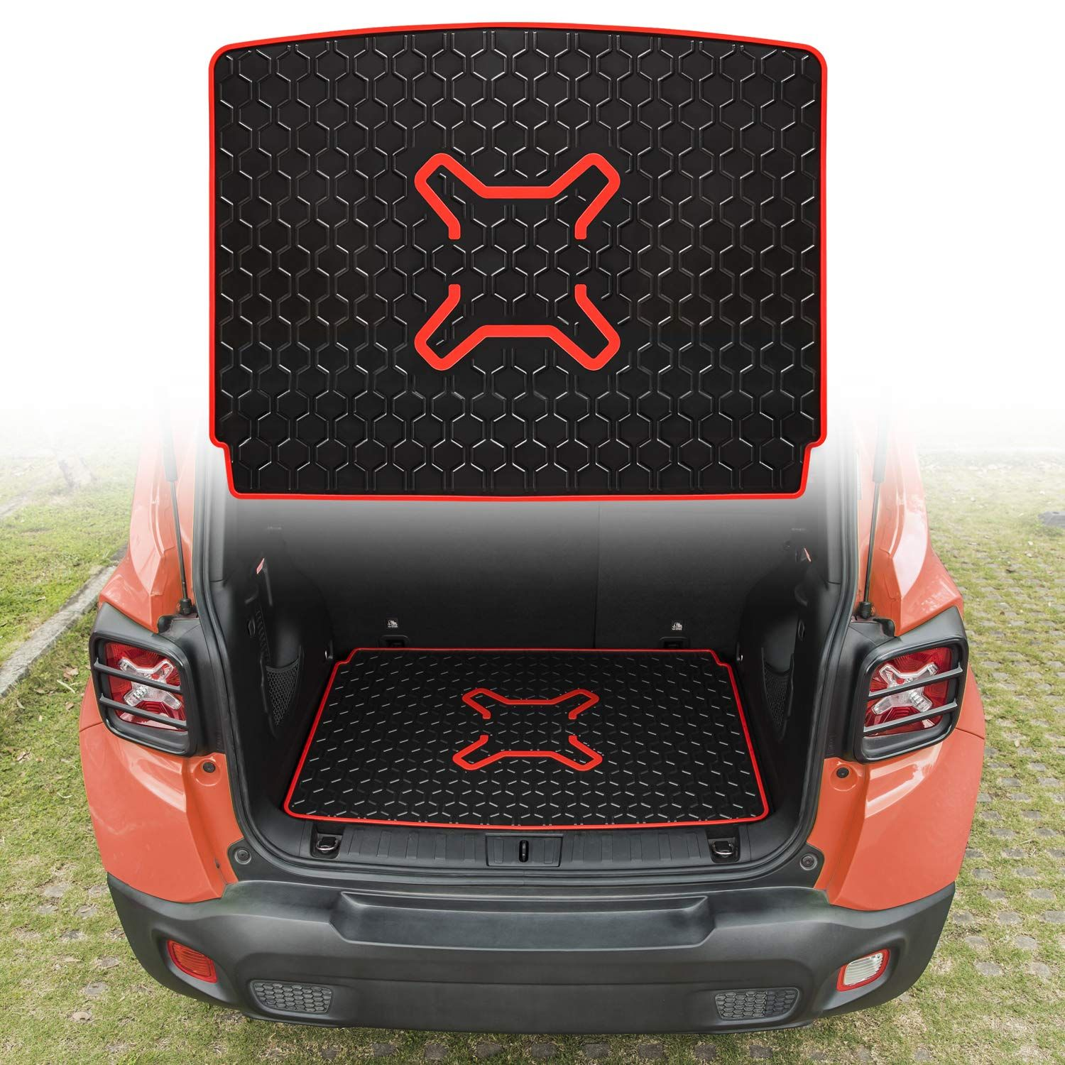 Danti Rubber Cargo Liner Rear Cargo Tray Trunk Floor Mat Protector For 2016 2017 2018 2019 Jeep Renegade See This Great Pro In 2020 Cargo Liner Jeep Renegade Liner