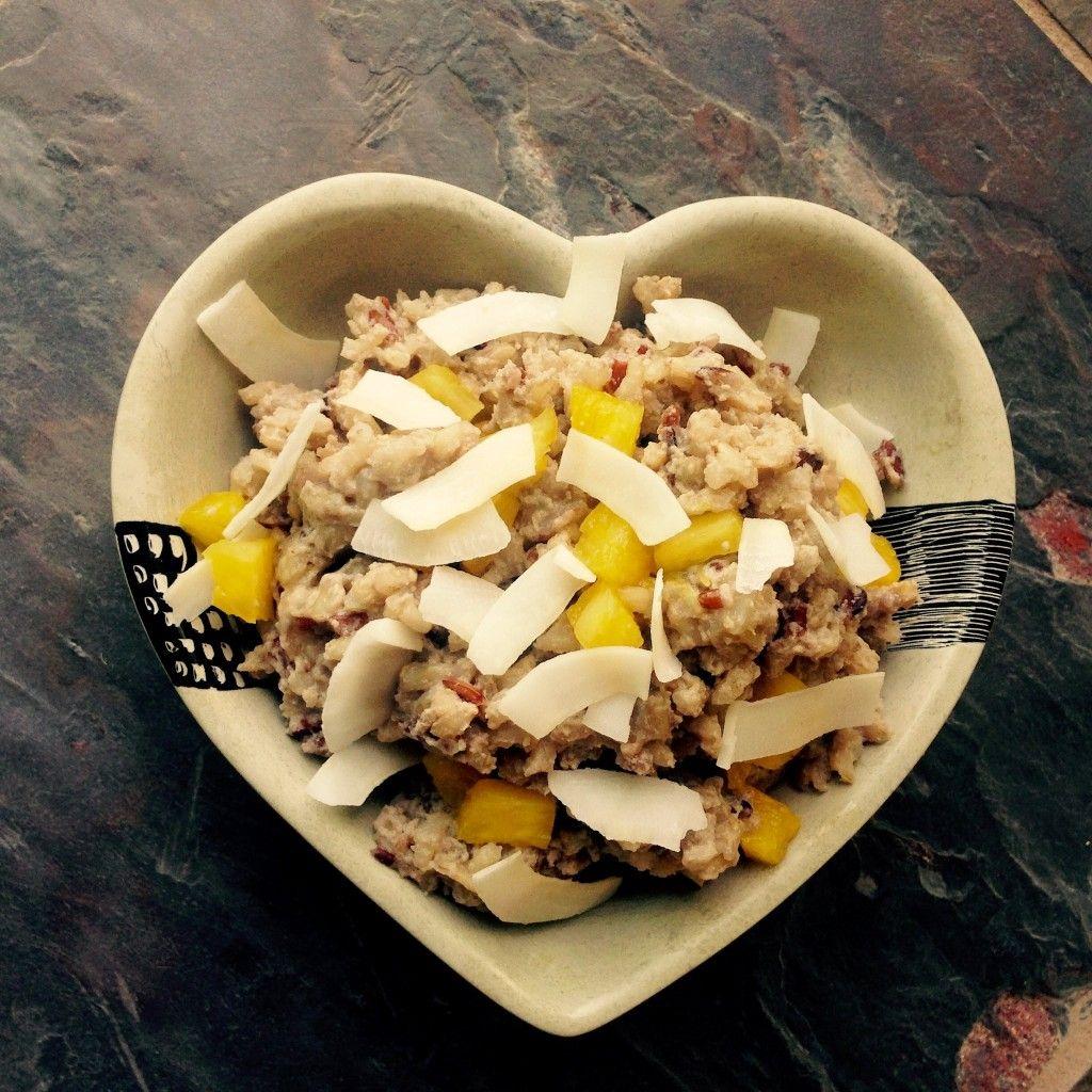 Pineapple-Coconut Wild Rice Pudding - HappinessWatts ...