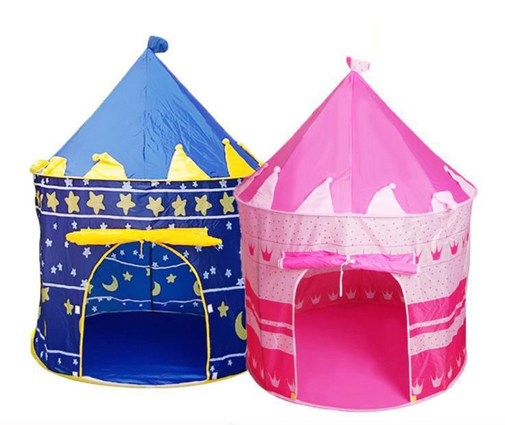Click To Buy Mongolia Castle Portable Blue And Pink Optional