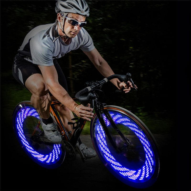High Quality Bicycle Bike Wheel Led Lights Tire Valve Lamp Gas
