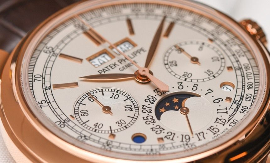 Patek Philippe R Perpetual Calendar Chronograph Watch Hands