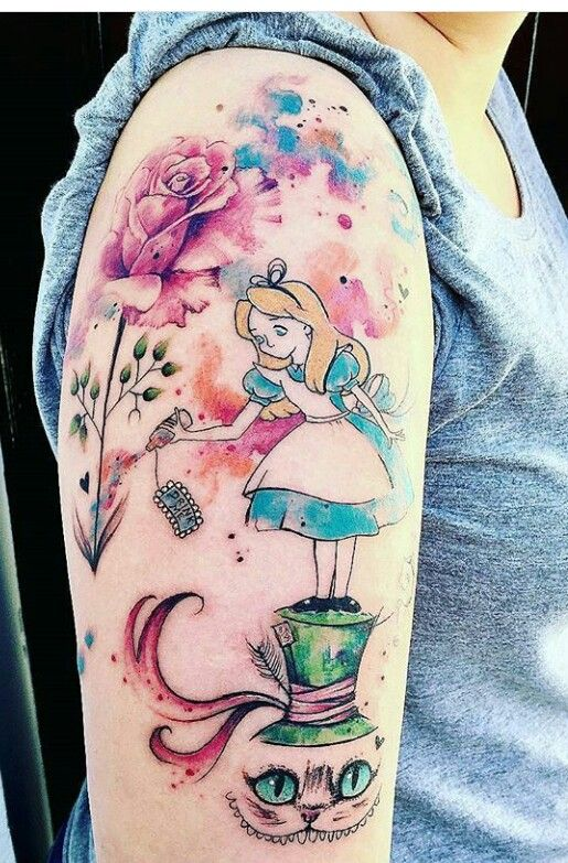 Pin De Kirsten Hetzer Em Disney Tattoo Com Imagens Tatuagem