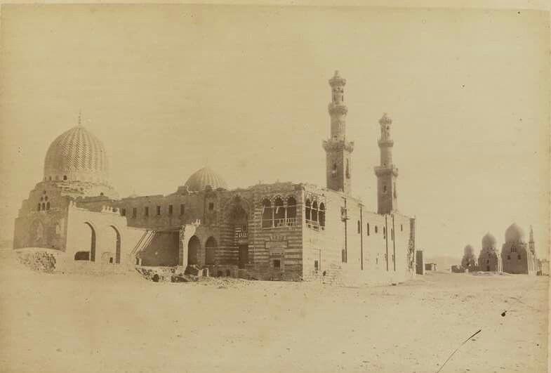 مجمع السلطان الناصر قرج بن برقوق بالقرافة المماليك القاهرة Egyptian History Islamic Architecture Cairo