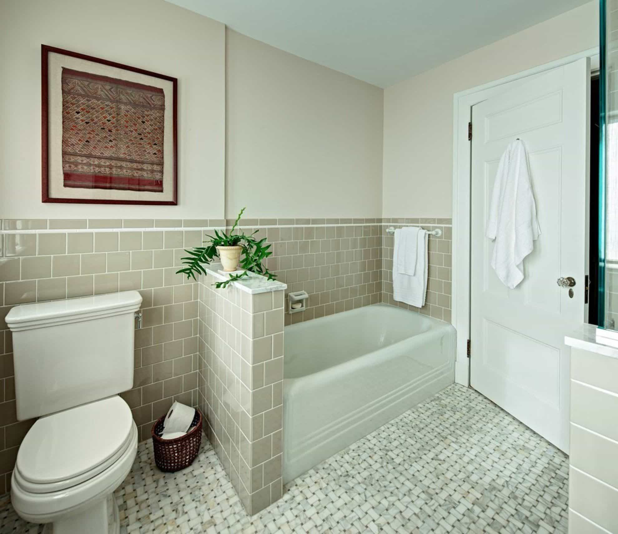 A Relaxing Space For Your Bathing Time