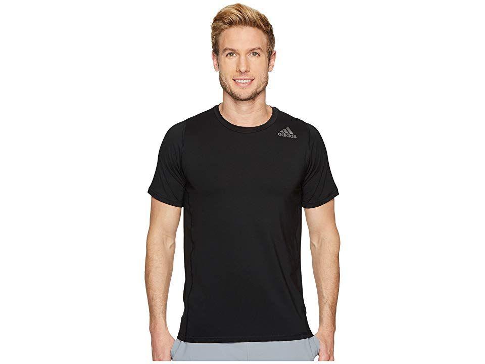 076af5173ca6e adidas Alphaskin Sport Fitted Short Sleeve Tee (Black) Men's T Shirt ...