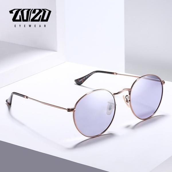 a08cc06c872 20 20 Brand New Unisex Sunglasses Men Polarized Lens Vintage Round Metal  Eyewear Accessories 17018