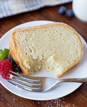 Old-fashioned Sour Cream Pound Cake 93