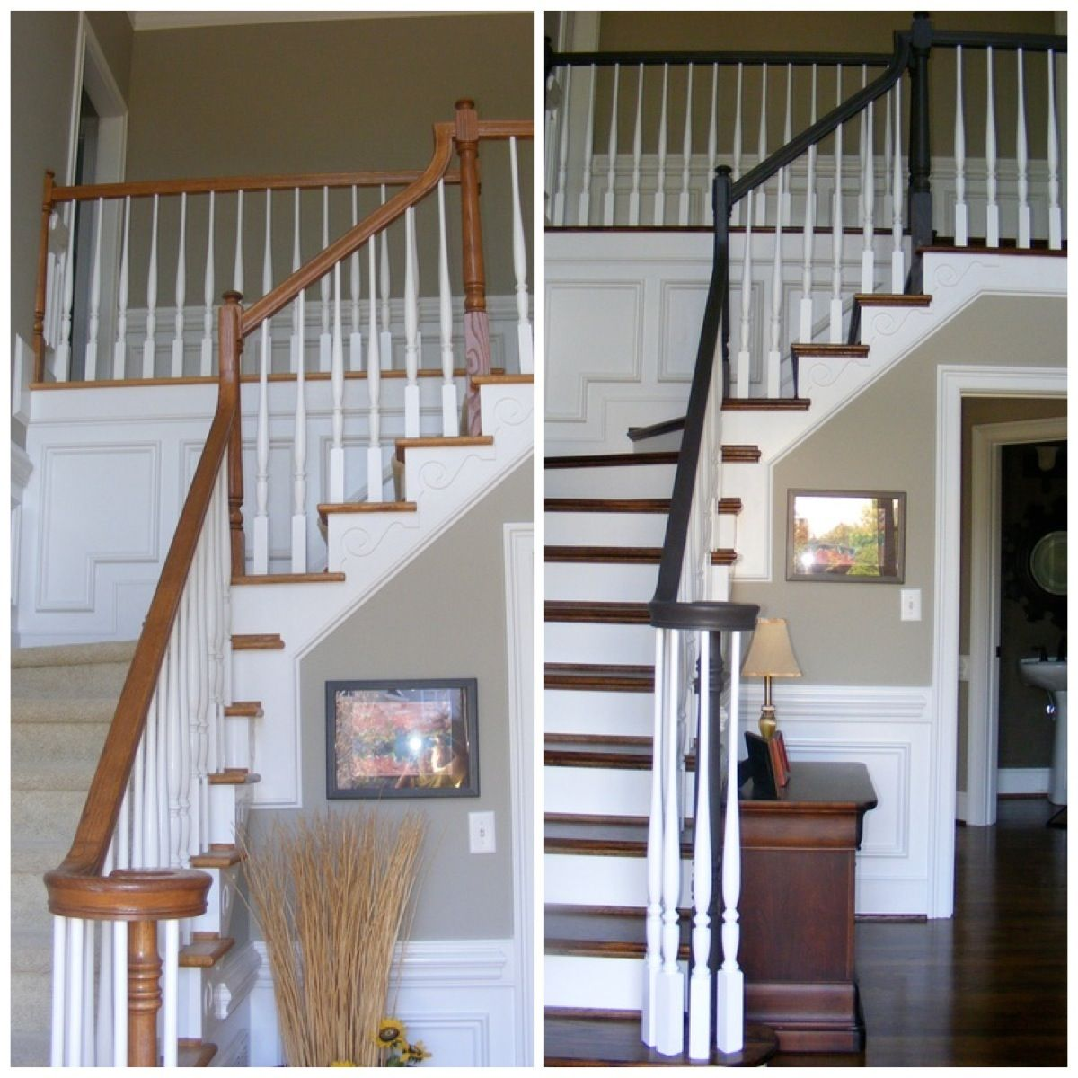 Staircase: BEFORE/AFTER