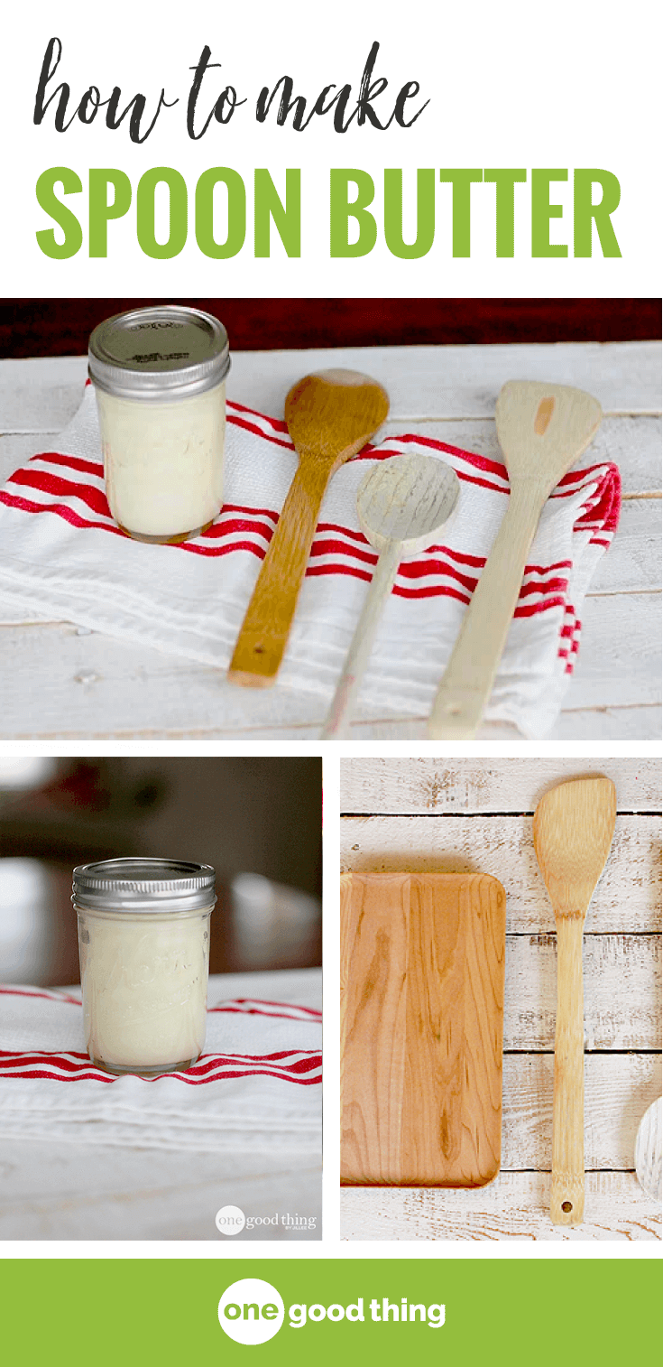 How To Make Spoon Butter Gifts To Give Wooden Spoons Spoon Diy