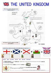 English Worksheets: The United Kingdom | Éducation anglais | Pinterest