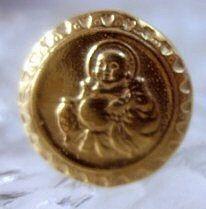 SS1457 Gold Plated Buddha ring Buddah by princeofdiamonds on Etsy, $27.31