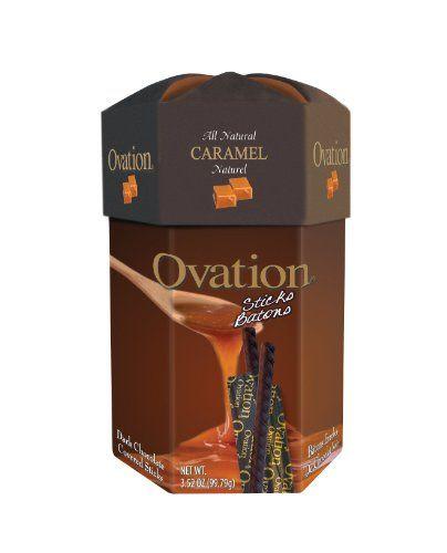 Ovation Caramel Milk Chcolate Sticks,...