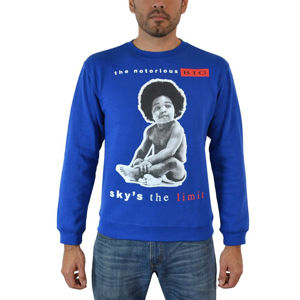 The Notorious B.I.G. Sky's The Limit Biggie Childhood Men's Casual ...