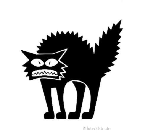 Details zu JDM OEM Aufkleber Buckel Katze 14 x 15 cm ...