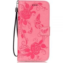Photo of Motif flip case roses and butterflies in pink for your iPhone 8Gahatoo