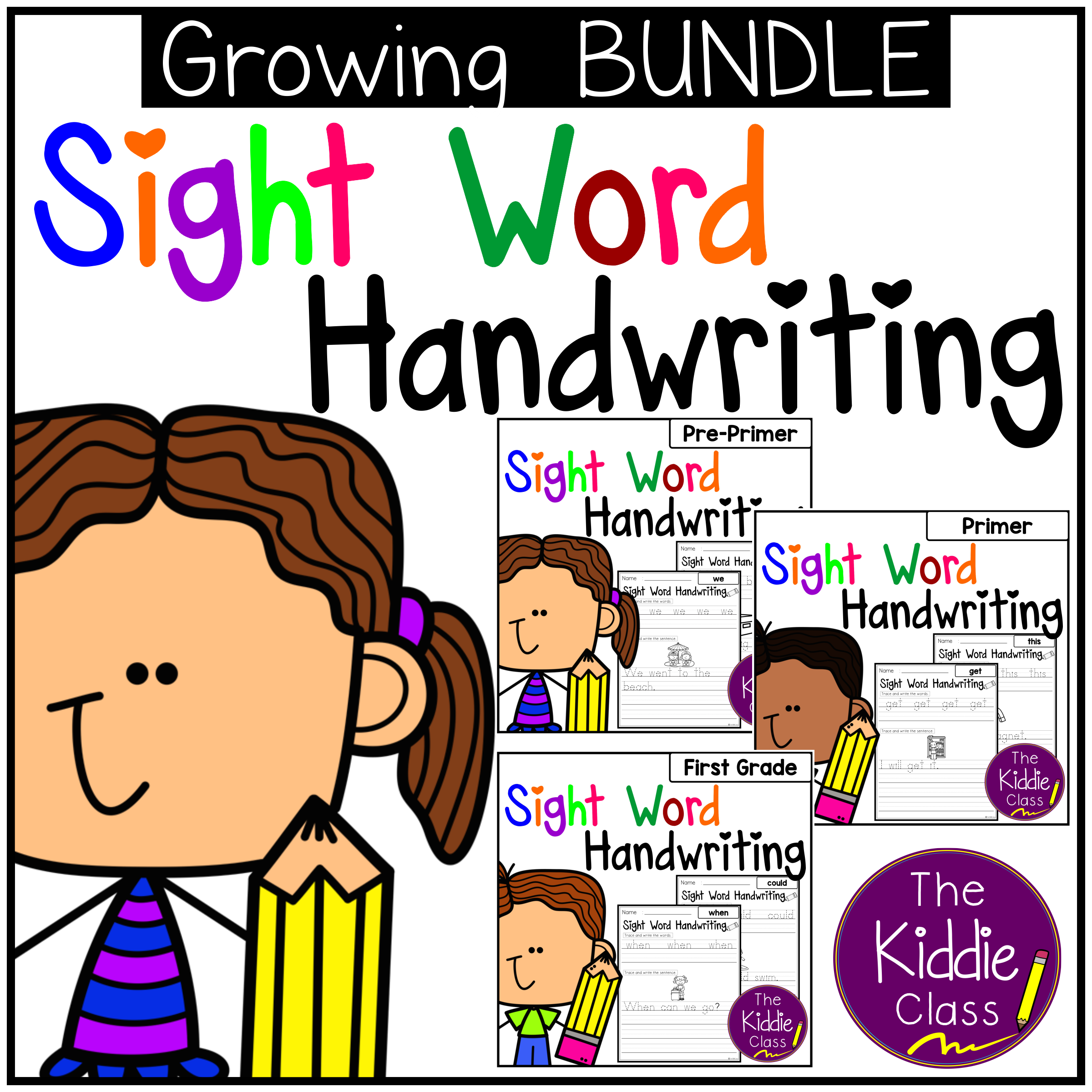Sight Word Handwriting Bundle