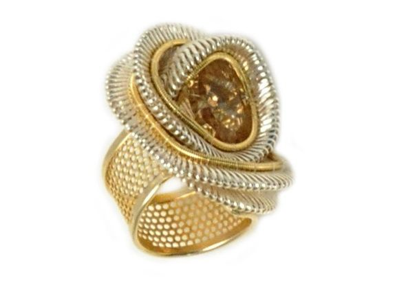 SIL01R1 Rose Ring