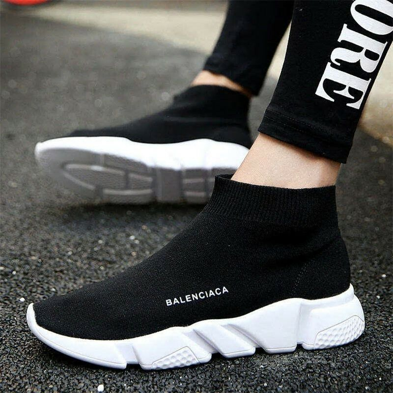 Inventive 2019 New Stretch Sock Shoes Woman Flats Fashion Bling Women Jogging Casual Shoes Elastic Sneakers Shoes Outdoor Female Loafers Women's Shoes Shoes