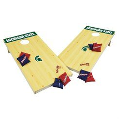 Wild Sports Michigan State Spartans XL Cornhole Tailgate Toss