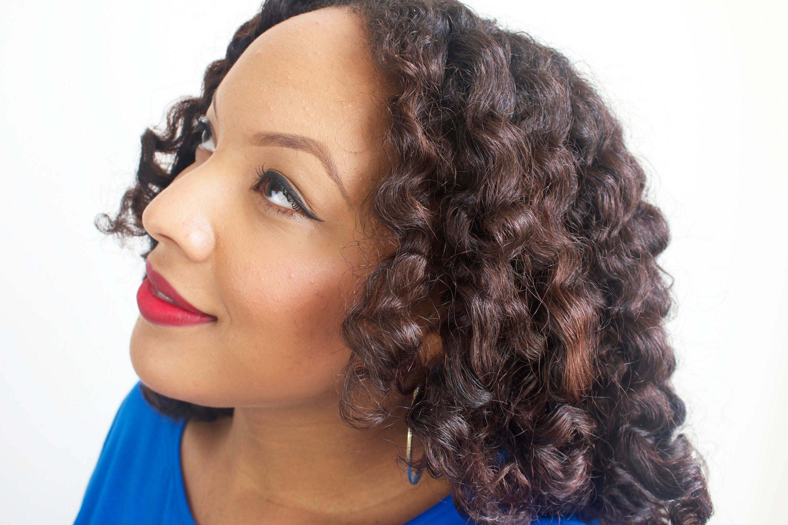 easy transitioning/heatless hairstyle: twist & curl | hair
