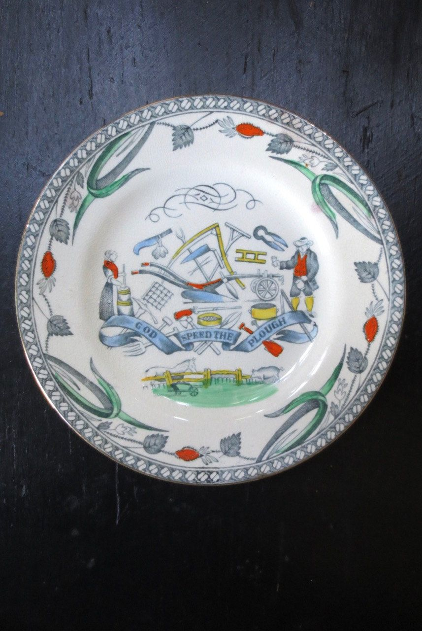 Burgess leigh pottery farmers god speed the plough b