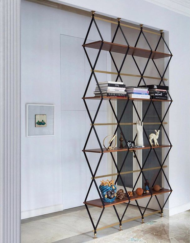 Pin By Marcia Moore Design On Bookcases In 2020 Metal Room Divider Diy Room Divider Wooden Room Dividers