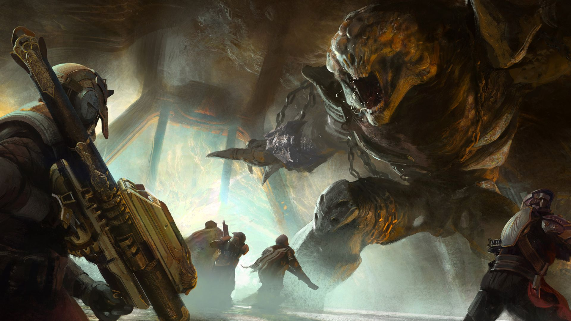 Destiny Hive Concept Art Game Art Video Game Art Game Concept Art