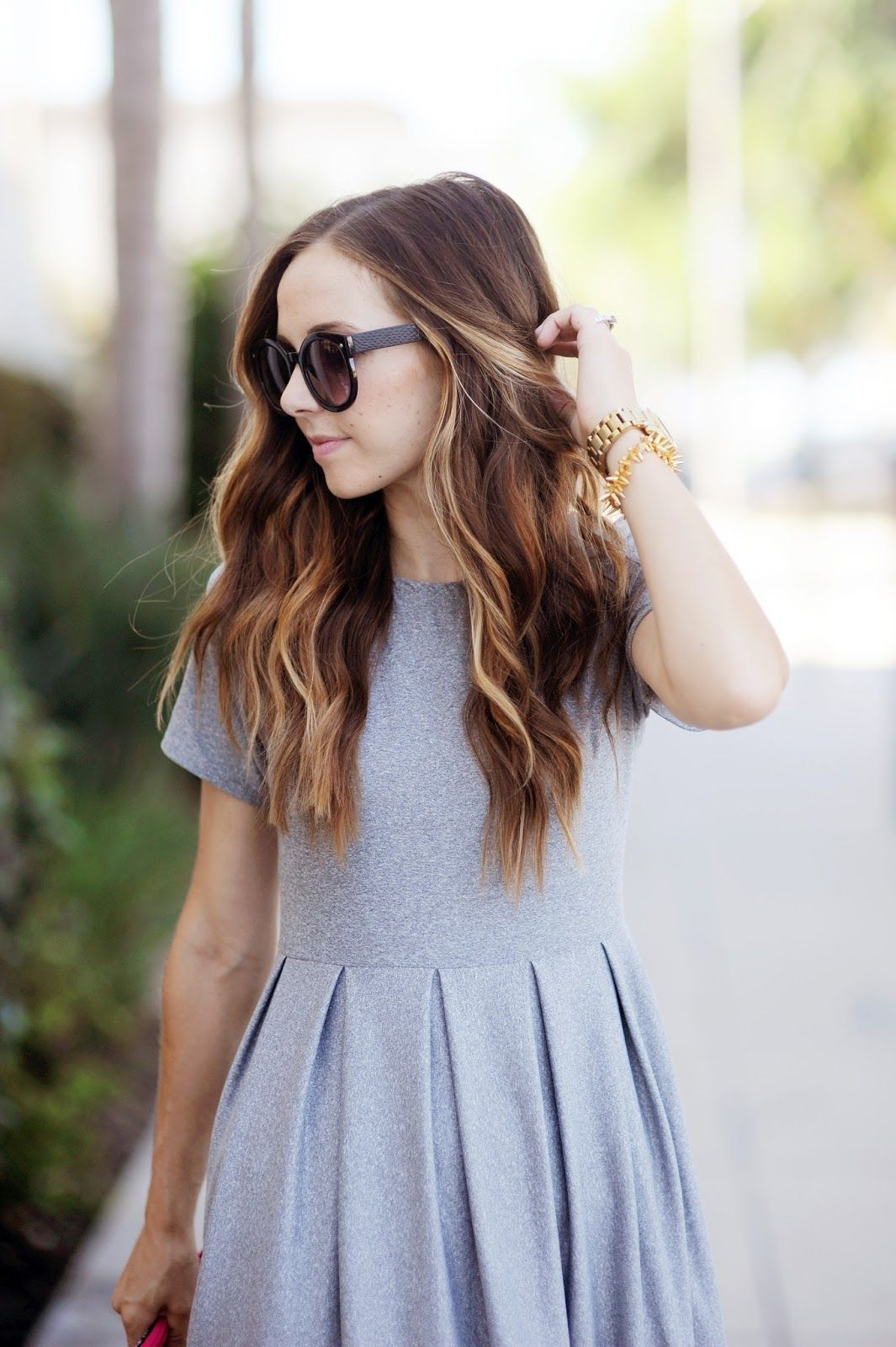 DIY FRIDAY: PLEATED FIT + FLARE DRESS TUTORIAL | Pinterest | Nähen ...