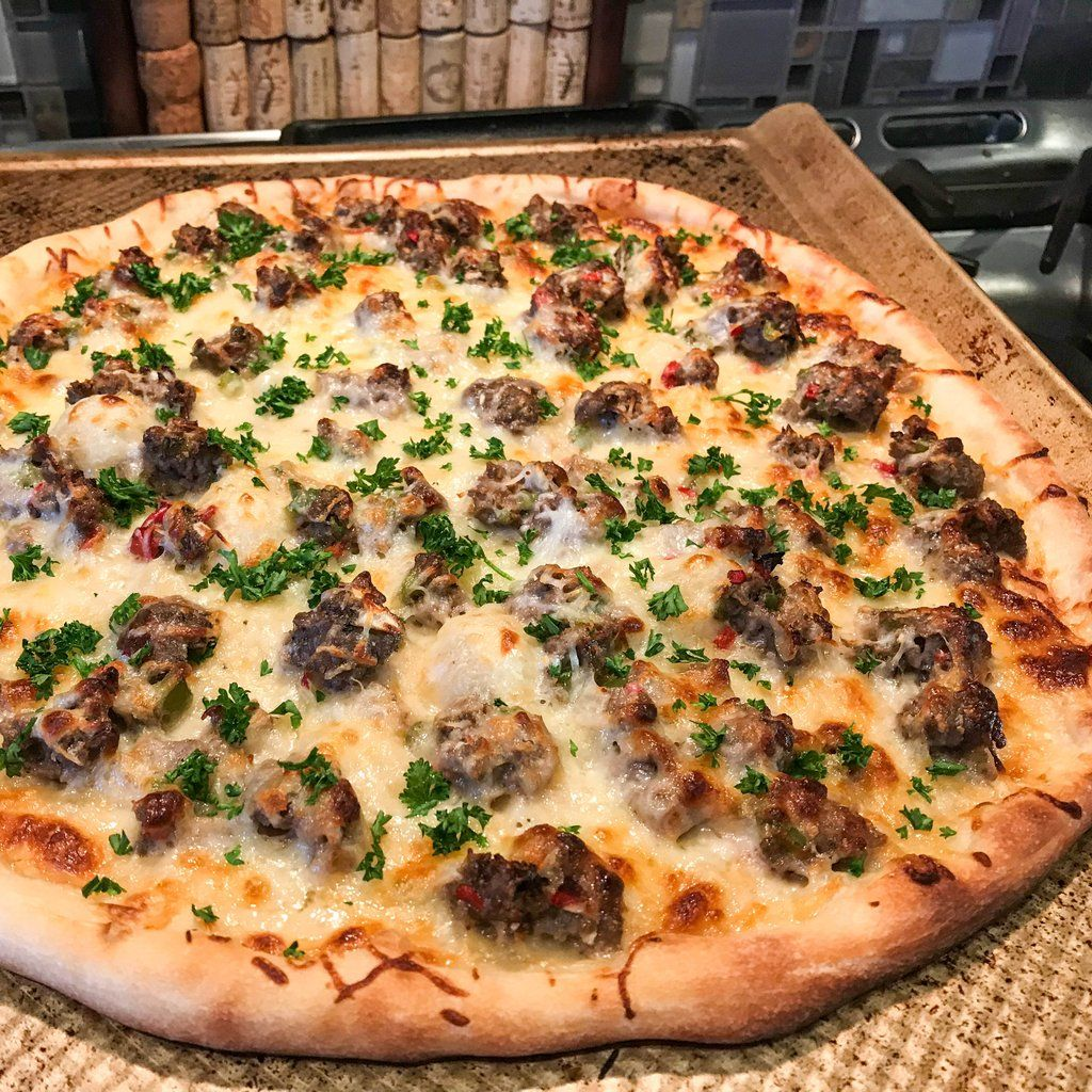 Philly Cheese Steak Pizza in 2020 Steak pizza, Philly